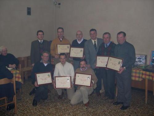 2004 Premiazioni